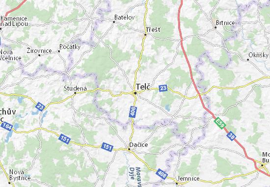 Telč Map