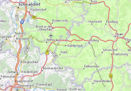 Walderbach Map