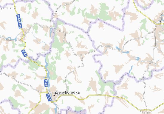 Carte-Plan Shevchenkove