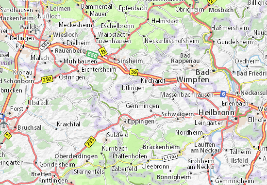 Mappe-Piantine Ittlingen