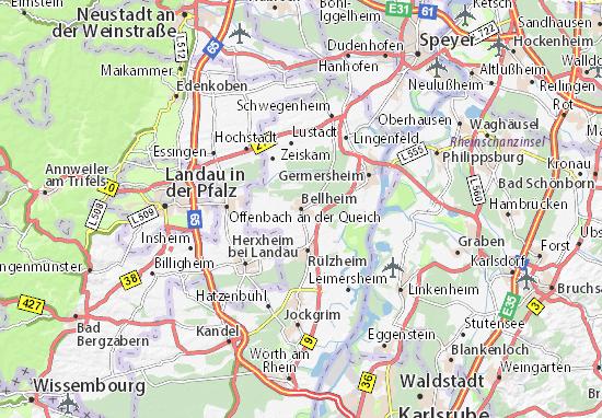 Mappe-Piantine Bellheim