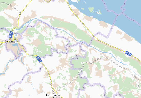 Carte-Plan Kulykivka