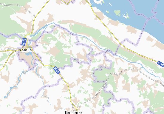 Mapas-Planos Pleskachivka