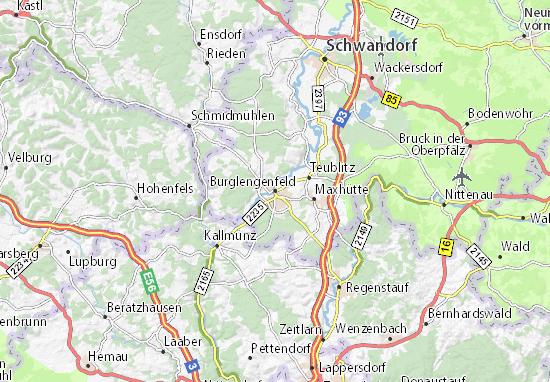 Burglengenfeld Map