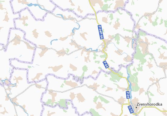 Carte-Plan Zhab'yanka