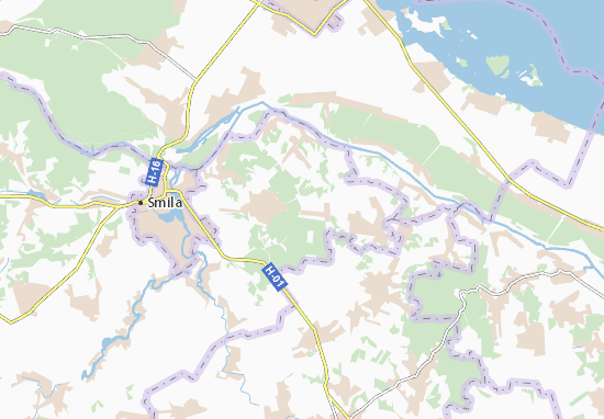 Shevchenka Map