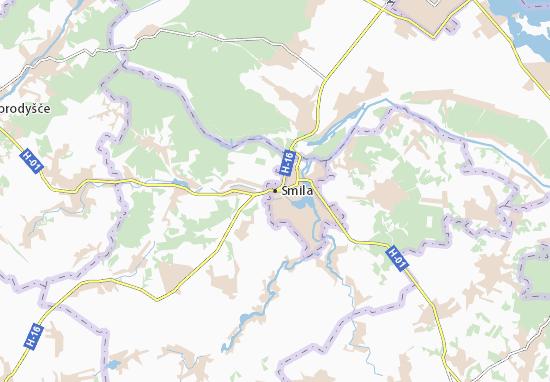 Smila Map