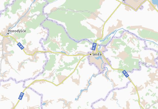 Mapas-Planos Kostyantynivka