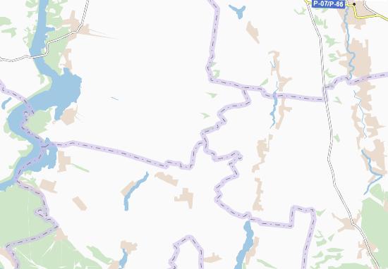 Kaart Plattegrond Ol'hivka