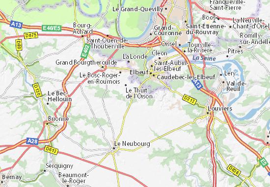 map of saint pierre des fleurs michelin saint pierre des fleurs map viamichelin. Black Bedroom Furniture Sets. Home Design Ideas