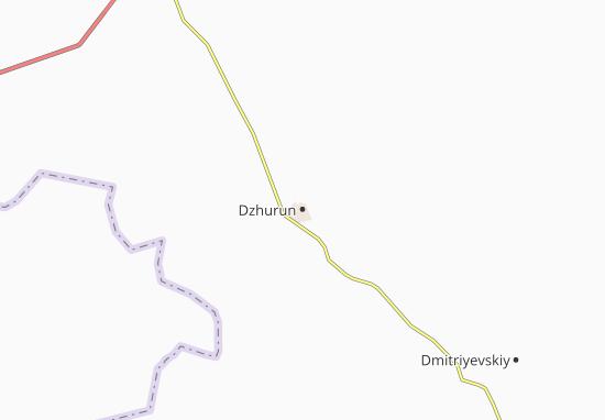 Dzhurun Map