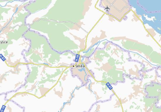Mapa Irdynivka