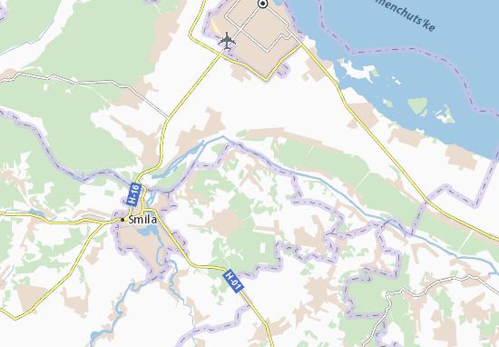 Mapas-Planos Holov'yatyne