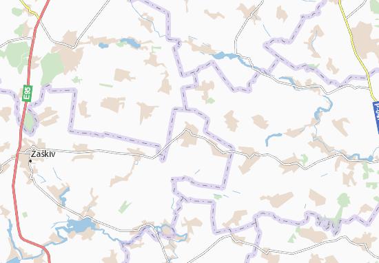 Carte-Plan Tynivka