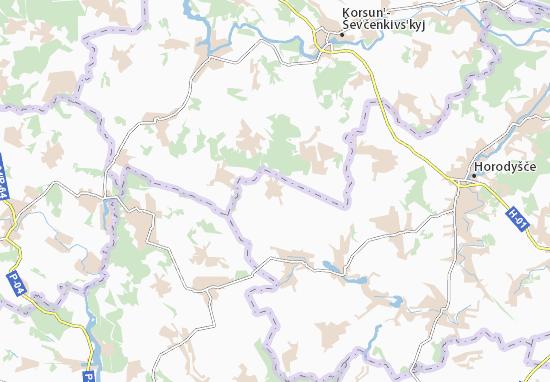 Mappe-Piantine Zhuravka