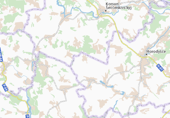 Mapas-Planos Zhuravka