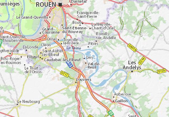 Léry Map