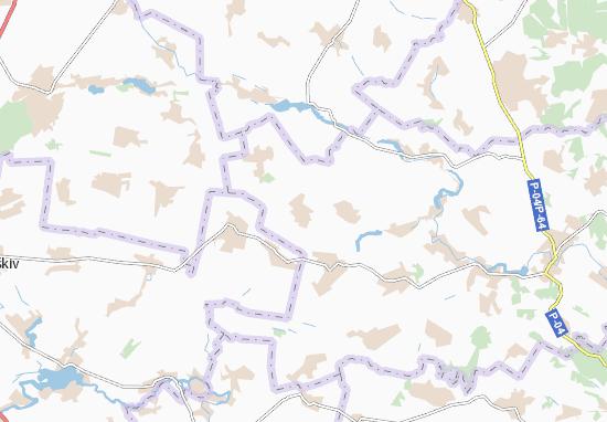 Mapas-Planos Votylivka