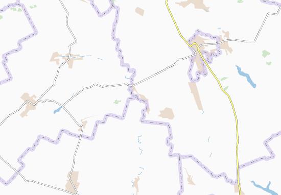 Verkhnya Oril'ka Map