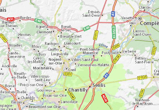 Brenouille Map