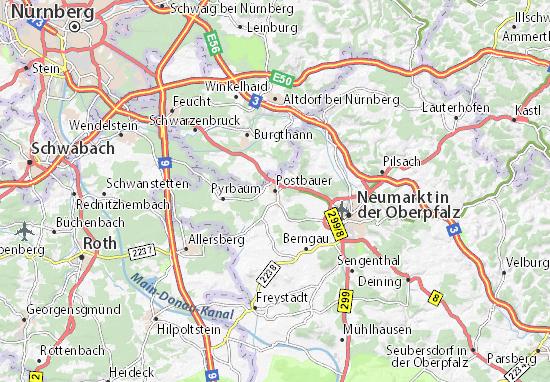 Postbauer Map