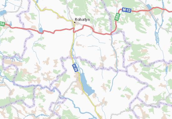 Yunashkiv Map