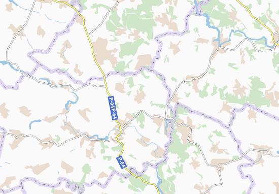 Zhurzhyntsi Map