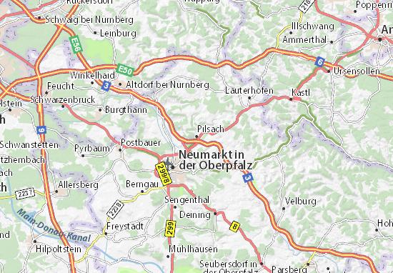 Mapas-Planos Pilsach