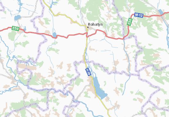 Mapas-Planos Konyushky