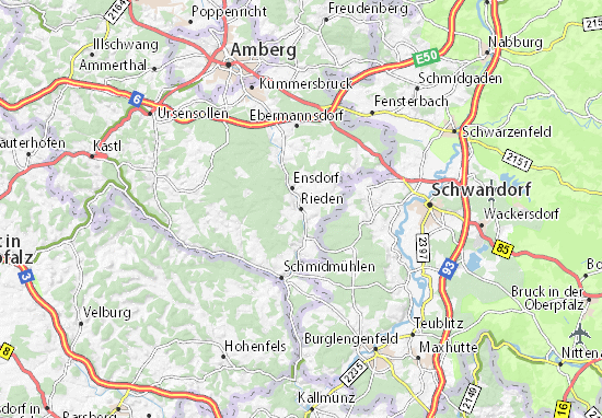 Rieden Map