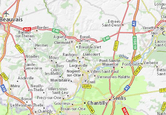 Carte-Plan Liancourt
