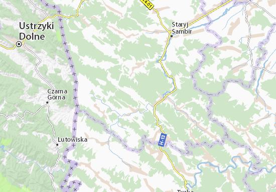 Tysovytsya Map