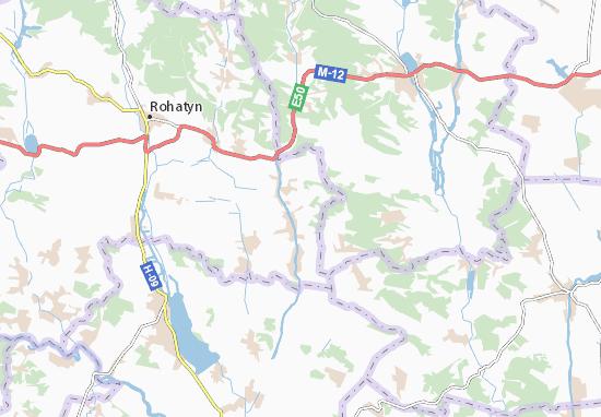 Vyhoda Map