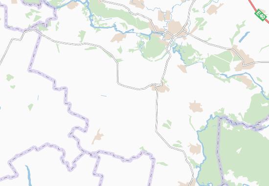 Shevelivka Map