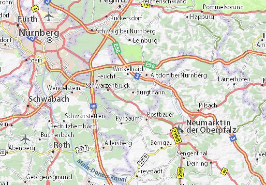 Burgthann Map