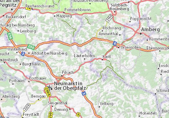 Mapas-Planos Lauterhofen