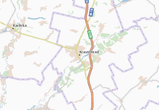 Mappe-Piantine Krasnohrad