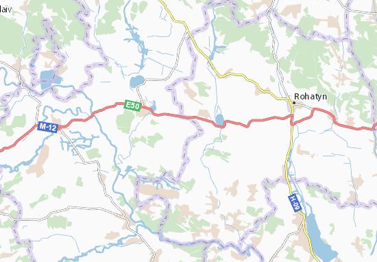 Verbytsya Map