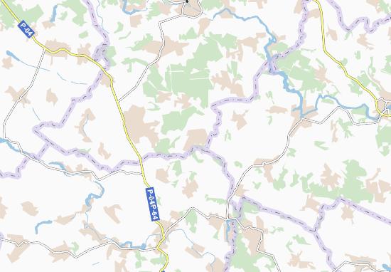 Shcherbashyntsi Map