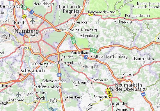 Karte Stadtplan Winkelhaid
