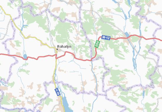 Mapas-Planos Chesnyky