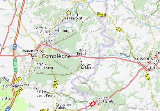 La Motte Map