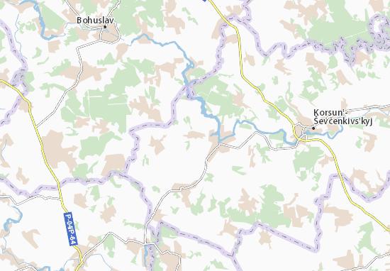 Mapas-Planos Zarichchya