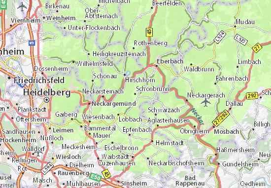 Carte-Plan Schönbrunn