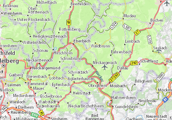 Map Zwingenberg Germany.Zwingenberg Map Detailed Maps For The City Of Zwingenberg Viamichelin