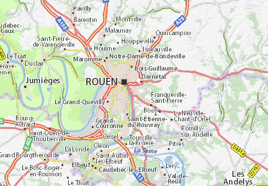 Mappe-Piantine Bonsecours
