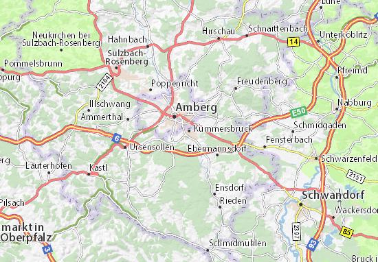 Carte-Plan Kümmersbruck