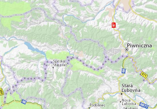Carte-Plan Szczawnica
