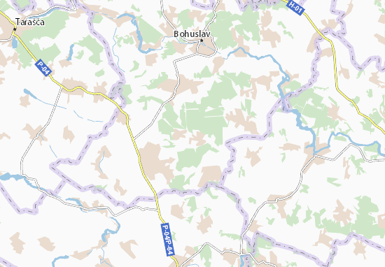 Mapas-Planos Dmytrenky