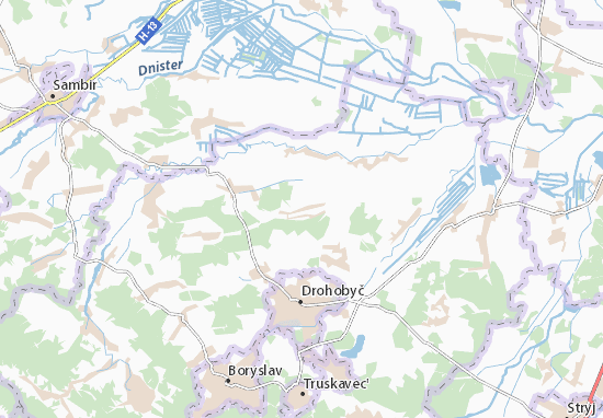 Kaart Plattegrond Volya Yakubova
